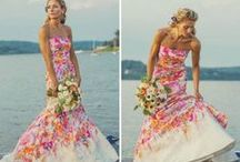 Non-Traditional Gowns / Creative alternatives to the white dress!