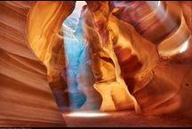 Antelope canyon, Nord Arizona Etats-Unis Amérique nord / Antelope canyon, Nord Arizona Etats-Unis Amérique nord