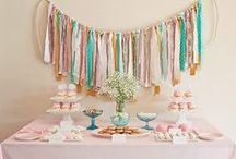Vintage children's parties / Inspiration for your children's baptism parties, birthday parties or perhaps for the baby shower?