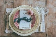 Table settings / It's all about beautiful table settings