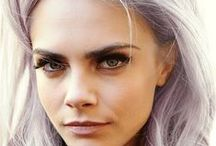 Celebrity Hair Color / Which celebrity is walking around the streets of New York with purple hair now? See the latest celebrity hair color trends here.  / by Colortrak Color Accessories