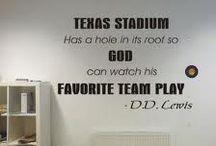 Cowboys football and St Louis Cardinal's baseball!! / by Karen Barnett