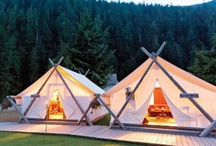 glamping / by Nicole Hauerwas