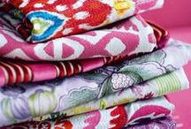 colors and fabrics to love / by Brenda Klaus Peters