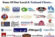 Our Worldwide Client List / A partial list of Mobile Austin Notary's worldwide clientele in the mobile notary public, process server, courier, loan signing closing agent, apostille, authentication and U.S embassy/consular/consulate legalization filing service industries.   www.mobileaustinnotary.com