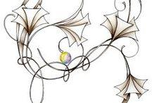 zentangle & tangles / zentangle and tangle inspiration