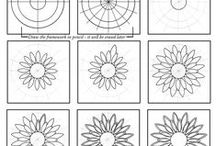 zentangle patterns / zentangle and tangle patterns