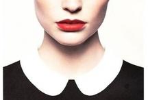(White Collar, Black Dress) Style Pèlerin