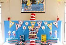 5th Birthday Party - Dr Suess - Ice Cream Bar