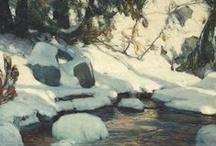 Snowscape Art Paintings