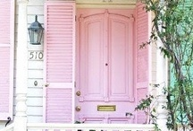 all things pink for my home / by Brenda Klaus Peters