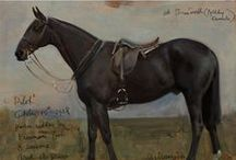 horse art / Ohhhhh, love me some Horse Art!