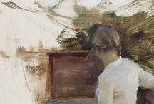 1990 -Present Art Gals / Paint Portrait of Women