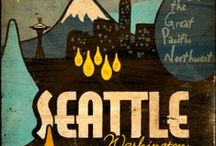 Seattle ideas / Ideas for our upcoming trip to Seattle / by Laura van W
