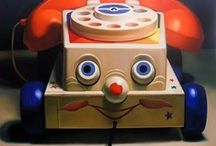 Still Life Toy Art Paintings