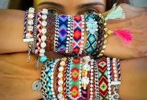 Arm party / Bracelets galore!