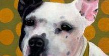 Animal Dog Art #3 / Custom Dog and Pet Portraits  tamforee.etsy.com