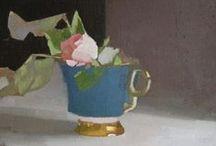 Flowers (pink) Still Life