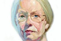 1990-Present Art Gals #5 / Portrait Painting of Women