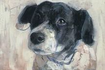 Animal Dog Art #7 / Custom Dog and Pet Portraits  tamforee.etsy.com