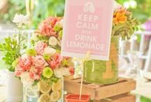 Spring... Easter, Garden Party, Weddings, more / Party ideas, spring colors. Easter, garden, Mother's Day, spring weddings, more!