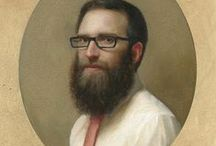 Art 1990-Present-Guys #4 / Portrait Paintings of Men