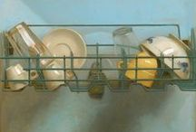 Still Life Paintings - Dishes #2