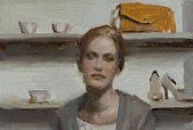 1990-Present Art Gals #8 / Portrait Paintings of Women