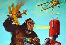 Still Life Toys Art Paintings #2