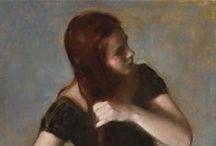 1990 - Present Art Gals #9 / Portrait Paintings of Women