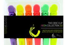 Colortrak Clips / Croc Clips