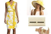 Kentucky Derby Inspiration / Fun, fashion, food, and big hats... and of course, mint juleps.