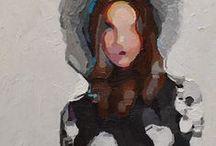 1990 - Present Art Gals #10 / Portrait Painting of Women