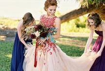 // Alternative wedding dresses //