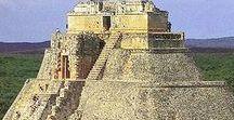 Arq. pré-colombiana / O termo pré-colombiano é frequentemente utilizado especialmente no contexto das grandes civilizações indígenas das Américas, como as da Mesoamérica (os olmecas, os toltecas, os teotihuacanos, os zapotecas, os mixtecas, os astecas e os maias) e dos Andes (os incas, moches, chibchas, cañaris).
