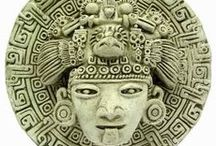 Arq. AZTEC (Azteca) / The Aztec Empire flourished between c. 1345 and 1521 CE and, at its greatest extent, covered most of northern Mesoamerica. The Aztec Empire, centred at the capital of Tenochtitlan, dominated most of Mesoamerica in the 15th and 16th centuries CE. With military conquest and trade expansion the art of the Aztecs also spread, helping the Aztecs achieve a cultural and political hegemony over their subjects.