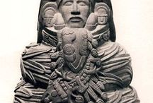 """Arq. TOLTEC (Tolteca) / After the fall of TEOTIHUACAN and the loss of MAYAN Cities the TOLTECS built an empire in Central Mexico. The TOLTECS (from Nahuatl and meaning """"master builders"""") were a village that lived between 900 AD and 1200 AD around its capital Tollan-Xicocotitlan, near Tula in Mexico. The Toltecs influenced art and architecture throughout Mesoamerica and had a special link with the AZTEC culture which is considered to be the successor to the TOLTEC people."""