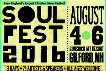 Bands & Artists / For current lineup go to www.thesoulfest.com/artists