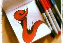 My Alphabet Sketch By Darold J. Pinnock