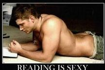 Real Men Read / Sexy men and the books they love / by Dana Marton