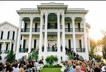 Wedding Venues  / The most of these wedding venues are in Louisiana and the surrounding southeastern states.