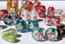 Glass Bead Jewelry / Designed and made in Finland by Päivi Kaarina Laajanen.  Orders to Finland: www.matkasto.net/kauppa.  International orders: please send a message to kauppa@matkasto.net.
