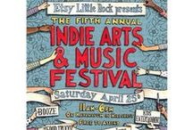 Etsy Little Rock presents: 5th Annual Indie Arts & Music Festival / Come enjoy live local music, shopping Etsy vendor booths, and delicious food truck nibbles! Team Etsy Little Rock (www.etsy.com/teams/9025/etsy-little-rock and www.facebook.com/EtsyLittleRock) will host the Etsy Little Rock presents: 5th Annual Indie Arts & Music Festival on Saturday, April 25, 2015. The festival will be held on Kavanaugh from Walnut to Spruce in Hillcrest. More on this fun, family-friendly event here: https://www.facebook.com/events/268988373306987/
