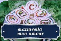 Mozzarella mon amour / Il nostro amore più grande: la #Mozzarella di Bufala. Qui abbiamo scelto alcune delle foto più belle che la ritraggono tra le nostre e le vostre creazioni :)