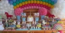 Fiestas infantiles / Ideas para fiestas infantiles sobre diversoso temas