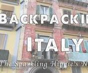 Backpacking Italy / Florence, Rome, Venice, Naples, Cinque Terra -- there are so many lovely, romantic cities to backpack in Italy.