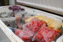 In the freezer