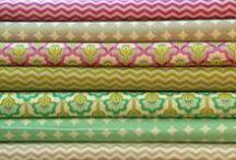 New fabric arrivels... / by Michaela B. Teuto Elfen
