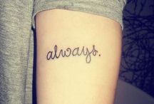 Inkings / Tattoos I love! / by Cat 💗