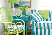 Coastal Cottage / Whether it's that vacation to the Keys or to Nantucket, these Coastal Shabby Chic décor ideas will help inspire either the colorfulness of the Keys or the natural weathered look of Nantucket...
